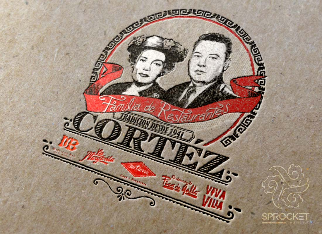 Cortez Family Logo Design